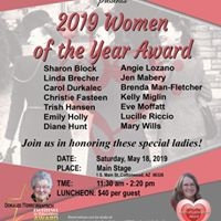 2019 Woemen of the Year Awards
